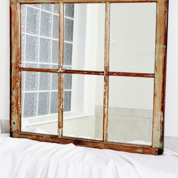 New Orleans Salvage Window Mirror by RestorationHarbor