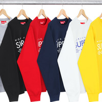 Supreme International Crewneck