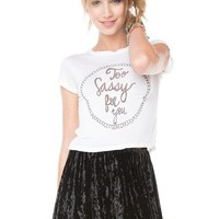 Brandy ♥ Melville |  Too Sassy For You Top