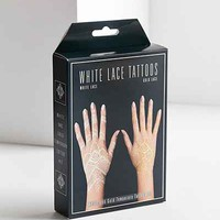 White Gold Lace Temporary Tattoo Kit - Urban Outfitters