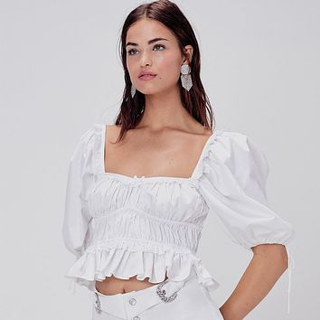 Jackson Crop Top by For Love & Lemons