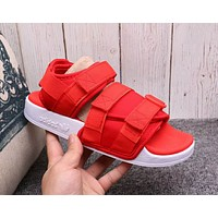 Adidas Popular Women Men Comfortable Personality Magic Stick Sandals Slipper Shoes Red I-A36H-MY