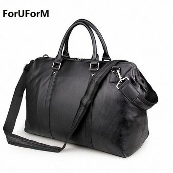 Vintage Genuine Leather Travel bag Men Duffel Bag Luggage Travel Bag Large Men Leather Duffle Bag Weekend Tote Big LI-1268