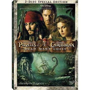 DVD - Pirates Of The Caribbean: Dead Man's Chest (2-Disc Special Edition) - Used