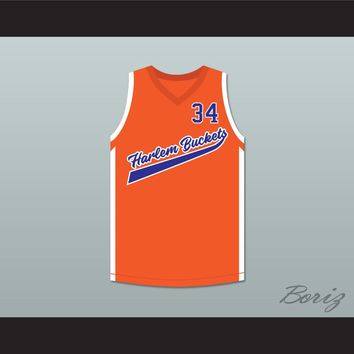 Big Fella 34 Harlem Buckets Alternate Basketball Jersey Uncle Drew