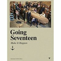 SEVENTEEN-[GOING SEVENTEEN] 3rd Mini Album VER.2 MAKE IT HAPPEN CD+PhotoBook+PhotoCard+Bookmark+etc
