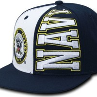"RAPID DOMINANCE ""Stack Up"" Military Caps Baseball Hat (Adjustable , US NAVY)"