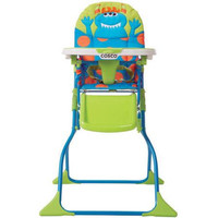 Cosco Simple Fold Deluxe High Chair - Monster Syd - HC237DHC