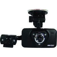 """Mini 1080HD Dash Camera With Built-In DVR and LCD Screen Dual Lens 2.7"""" screen"""