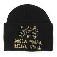 United Couture Dolla Dolla Beanie at PacSun.com