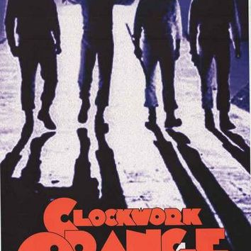 A Clockwork Orange Droogs Movie Poster 24x36