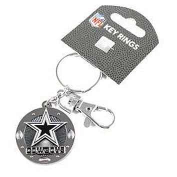 DALLAS COWBOYS IMPACT KEYCHAIN NEW & OFFICIALLY LICENSED