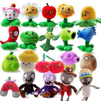 Plants vs zombie style puppets 2012 - 28 centimeters of plants vs zombies' soft plush toys, gifts dolls toys children's party