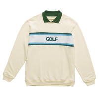 COUNTRY CLUB COLLARED SWEATSHIRT