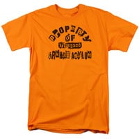 BATMAN/PROPERTY OF ARKHAM - S/S ADULT 18/1 - ORANGE -
