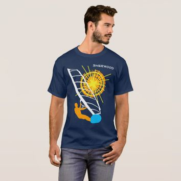 Chic Windsurfer Funny customizable T-Shirt