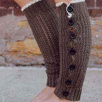 Deck the Halls Leg Warmers