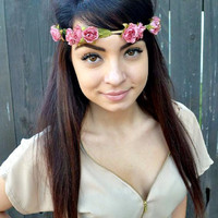 Antique Rose Headband #C1012