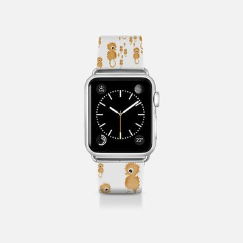 Sea horses pattern Apple Watch Band (38mm)  by VanessaGF   Casetify
