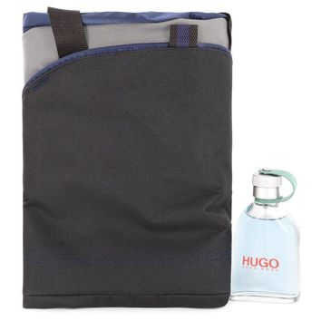 HUGO by Hugo Boss Gift Set -- 4.2 oz Eau De Toilette Spray + Duffel Bag for Men