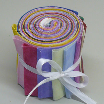 Quilt Fabric Strips Jelly Roll Blenders
