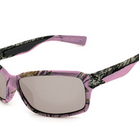 Peppers - Bewitched Break-up Pink Camo Sunglasses, Smoke Lenses