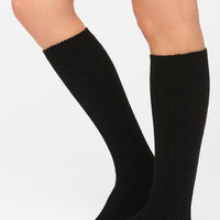 Urban Outfitters - UO Cozy Textured Knee-High Sock