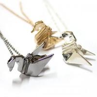 ORIGAMI BIRD by OneLuv on Sense of Fashion
