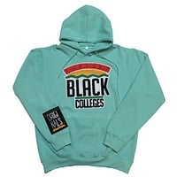 "Originals ""Support Black College"" Hoodie in Pastel Turquoise"