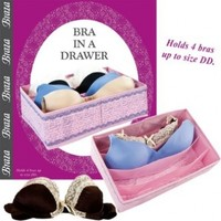 Bra in a Drawer Divider Closet Organizer Storage Organize and Protects Bras