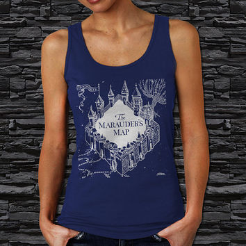 The Marauder Map Harry Potter Woman Tank Top (Color Available)
