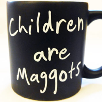 Matilda Musical Children are Maggots Mug - Roald Dahl Store