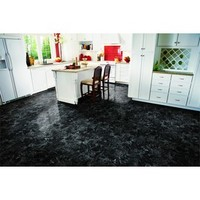Shop Style Selections 1-Piece 12-in x 12-in Ebony Marble Peel-And-Stick Stone Vinyl Tile at Lowes.com