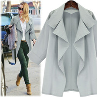 SIMPLE - Autumn Casual Long Sleeve Outerwear Jacket a13024