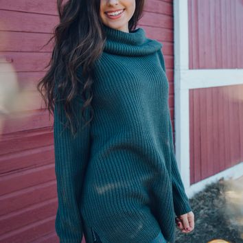 Riverside Cowl Neck Tunic