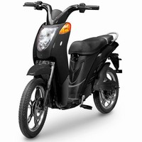 Jetson Lithium Ion Powered Eco-Friendly Electric Bike - Black