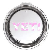 Pink Chevron Yeti Lid Decal Yeti Logo for Rambler or Tumbler - Any Color -  30oz - 20oz - Pattern - Hot Pink - Preppy - Lid - Base - Logo