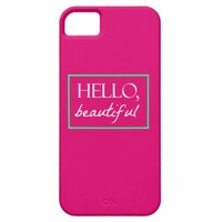 """Hello Beautiful"" iPhone 6 Cover iPhone 5 Case"