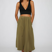 Wicker Skirt - Khaki