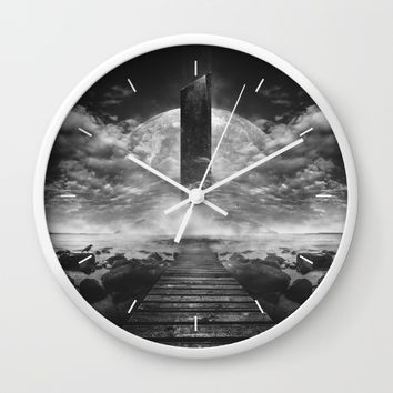 Some day soon Wall Clock by HappyMelvin