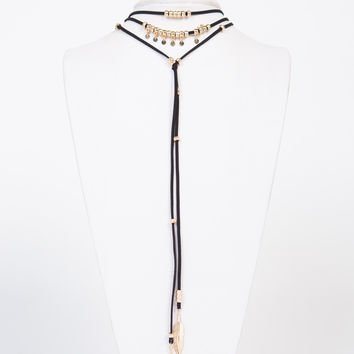 Golden Charms Layered Necklace