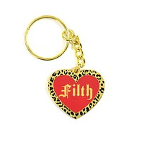 Filth Heart Keychain
