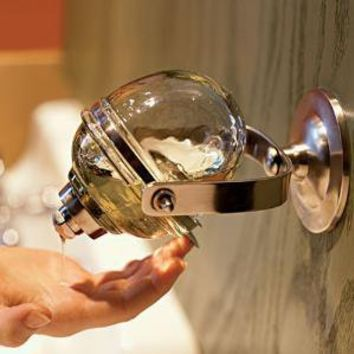 The Green Head - First Hand Soap Dispenser  [ not available ]