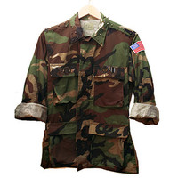 Spiked Camo Jacket (One-size)