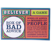 Box of Bad Advice Comedic Card Game