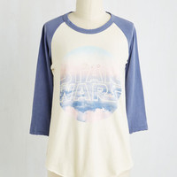 Quirky Mid-length 3 Skywalker's the Limit Top ?