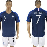2018 World Cup France Team Football Clothes Football Shirt Football Jersey Soccer Jersey