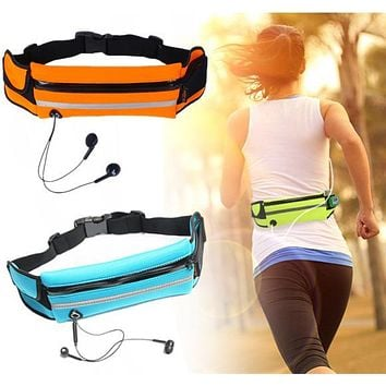 Waterproof Sport Gym Waist Bag Running Wallet Card Holder Phone Case Pouch For iPhone 7 7Plus Huawei P8 9 Lite Mate9 Honor8