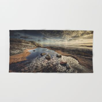 My watering hole Hand & Bath Towel by HappyMelvin