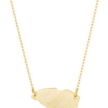 Gold South Carolina Necklace